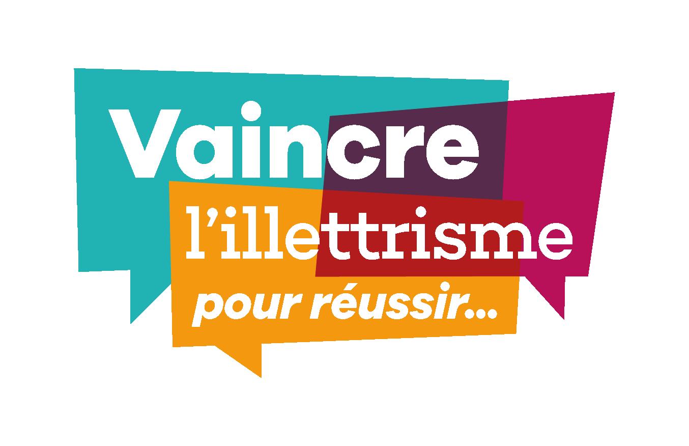 Logo de la mission Vaincre l'illettrisme